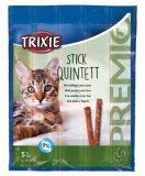 Лакомство палочки для кошек Premio Quadro-Sticks птица печень Трикси 42724