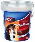 Лакомство для собак и щенков Happy Hearts c ягнёнком и рисом Трикси 31497