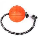 Collar LIKER Cord - Лайкер Корд - мячик игрушка для собак и щенков, диаметр 9 см, 6297