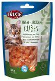 Лакомство для кошек PREMIO Cheese Chicken Cubes с курицей и сыром Трикси 42717