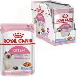 Royal Canin Kitten Instinctive в желе влажный корм консерва для котят до 12 месяцев (пауч)