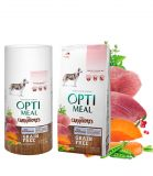 Optimeal for Carnivores Duck & Vegetables Сухой беззерновой корм для собак Утка и овощи