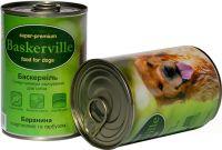 Baskerville (Баскервиль) Баранина, Картофель, Тыква консерва для собак