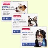 Beaphar IMMO Shield - капли спот-он от блох и клещей Бифар для собак