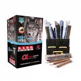 Alpha Spirit Sticks Roll Полувлажные лакомства для собак с рыбой, as50074, as51074, as53074