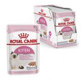 Royal Canin Kitten Instinctive паштет влажный корм консерва для котят до 12 месяцев (пауч)