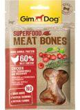 GimDog Superfood Meat Bones Лакомства для собак с курицей, клюквой и розмарином