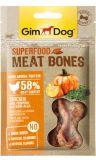 GimDog Superfood Meat Bones Лакомства для собак с курицей, тыквой и нори
