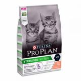 Purina Pro Plan (Про План Юниор) Sterilised Kitten Сухой корм с лососем для стерилизованых котят