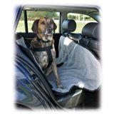Автомобильная подстилка на заднее сиденье утепленная флисом для собак Trixie TX-1313