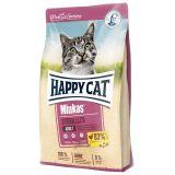 Happy Cat (Хэппи Кэт) Minkas Sterilised. Сухой корм с птицей и кукурузой для кастрированных котов и стерилизованных кошек