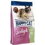 Happy Cat (Хеппи Кет) Sterilised Weide-Lamm. Сухой корм с ягненком для стерилизованных кошек и кастрированных котов