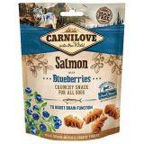 Carnilove (Карнилав) Dog Crunchy Snack Salmon with Blueberries - Лакомство с лососем и черникой для собак всех пород