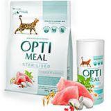Optimeal Sterilized Adult Cat Корм с индейкой и овсом для кастрированных стерилизованных котов