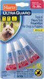 Hartz UltraGuard Капли на холку от блох, клещей и комаров для собак весом от 14 кг до 28 кг (1,30 мл)