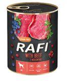 Dolina Noteci Rafi with Beef Беззерновые консервы для собак с говядиной голубикой и клюквой