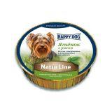 Happy Dog (Хеппи Дог) Schale NaturLine LammReis - Консервированный корм паштет для собак с ягненком и рисом