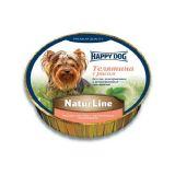 Happy Dog (Хеппи Дог) Schale NaturLine KalbReis - Консервированный корм паштет для собак с телятиной и рисом