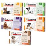 INSPECTOR QUADRO Инспектор Квадро К капли на холку от 14 внутренних и внешних паразитов для собак