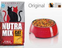 Nutra Mix Original сухой повседневный корм для взрослых кошек всех пород с курицей, индейкой и рыбой