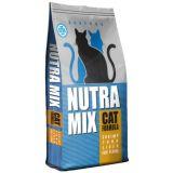 Nutra Mix Seafood сухой повседневный корм для взрослых кошек всех пород с рыбой и морепродуктами