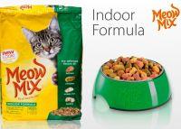 Meo Mix Cat Indoor сухой корм для взрослых домашних кошек