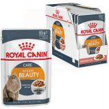 Royal Canin Intense Beauty корм консерва в соусе для кошек старше 1 года для поддержания красоты шерсти