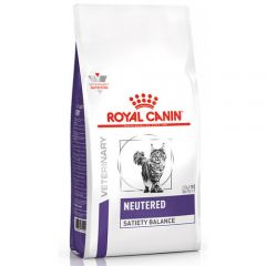 Royal Canin Neutered Satiety Balance сухой корм для профилактики мочекаменной болезни у стерилизованных и кастрированных кошек, имеющих склонность к набору лишнего веса