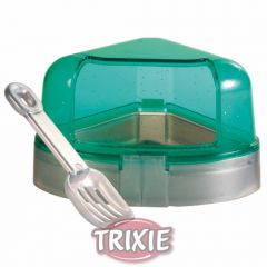 Туалет-домик с лопаткой, для грызунов угловой Trixie TX-6256