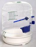 Клетка для попугаев Рондо круглая, в золотом цвете, Лори Кз044