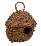 Подвесное плетеное гнездо для птиц Trixie 5622