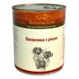 Hubertus (Хубертус) Gold Forest Edition Говядина и рис консервы для собак 800г