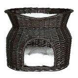 Лежак-домик плетеный для кошек Трикси 2872, 2873
