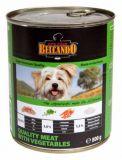 Консервы для собак Белькандо - мясо с овощами (Belcando Best Quality Meat)